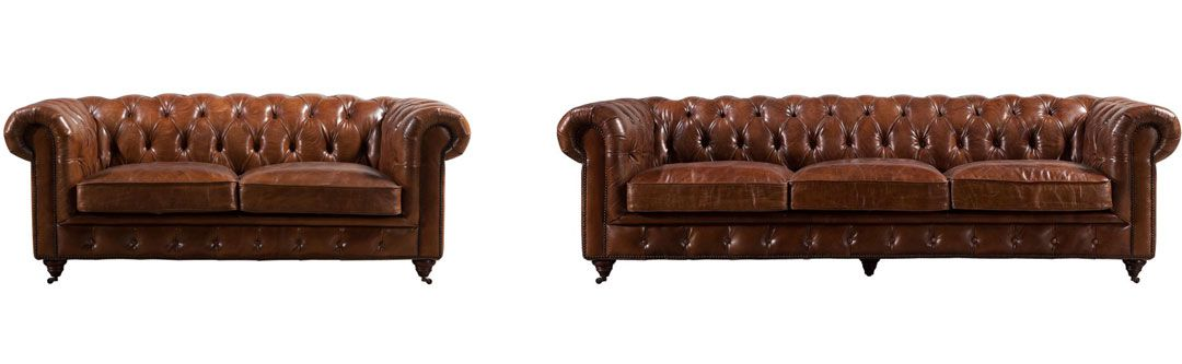 LEATHER SOFAS/CHESTERFIELD