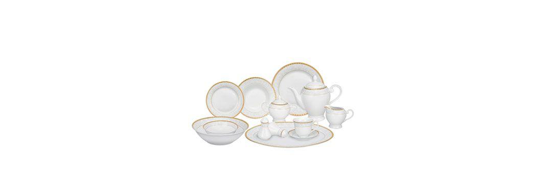 DISH SERVICES & TEA SET
