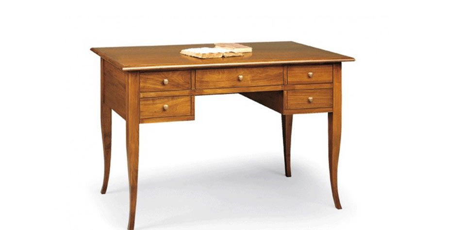 WRITING DESK WITH FIVE DRAWERS (1101)