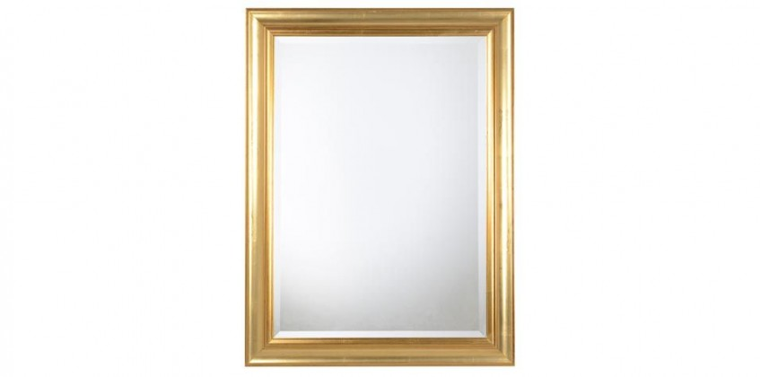 MIRROR IN GOLDEN FINISH (153A) MIRRORS