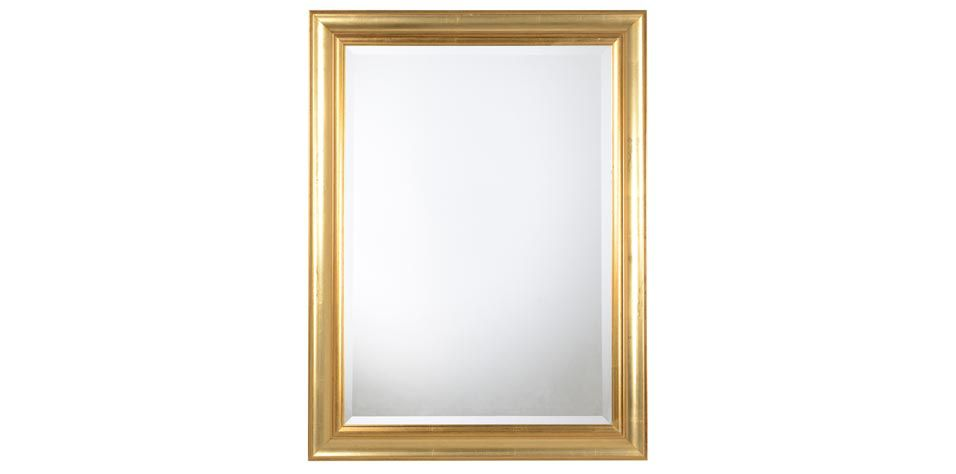 MIRROR IN GOLDEN FINISH (153A)