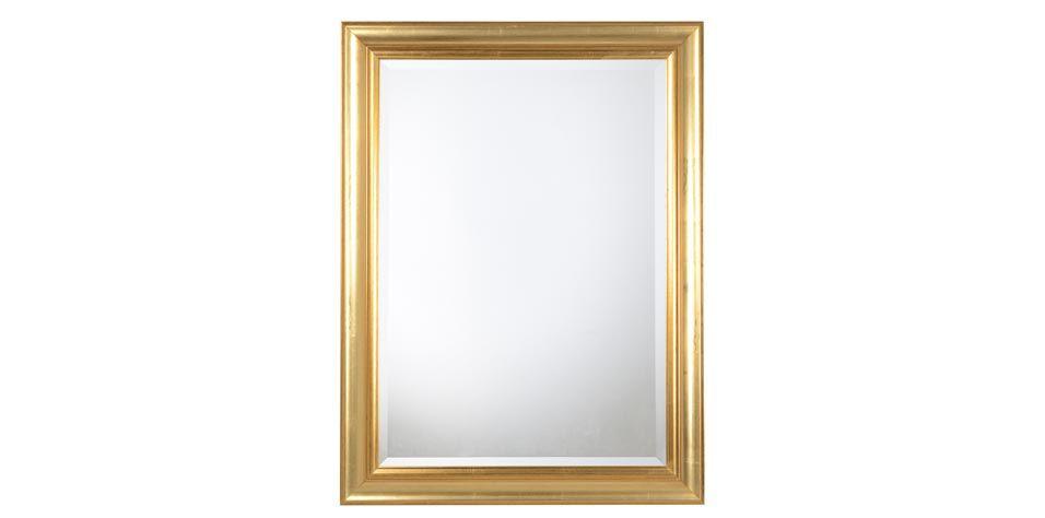 GOLD LEAF MIRROR (153B)