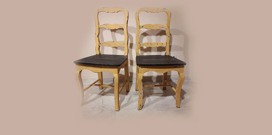 CHAIR (YELL)-ONLY ONE PIECE