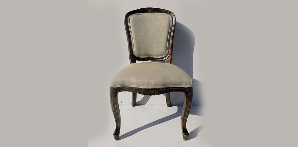 DINING CHAIR LOUIS XV (609K)-AVAILABLE 2 PCS ONLY!!!!