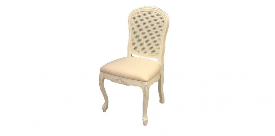 WICKER DINING CHAIR (0117)/STOCK-DEFFECTIVE