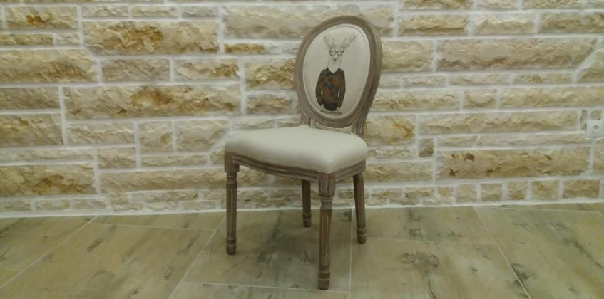 DÉCAPÉ DINING CHAIR (DEER) CHAIRS