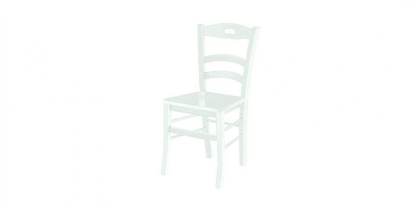 CHAIR WITH WHITE MAT LACQUER (1002) CHAIRS