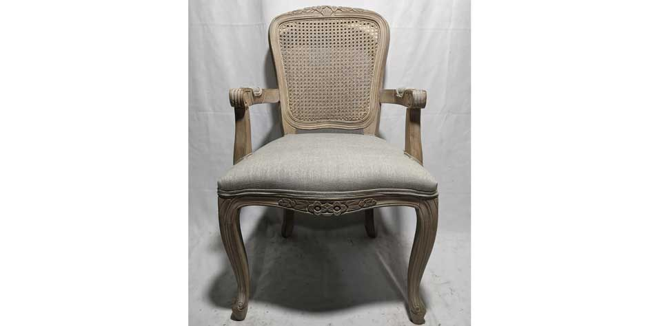 DINING ARMCHAIR (7610)***2 PCS ONLY***