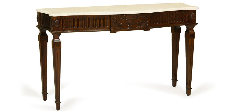 CONSOLE WITH MARBLE TOP (028M)