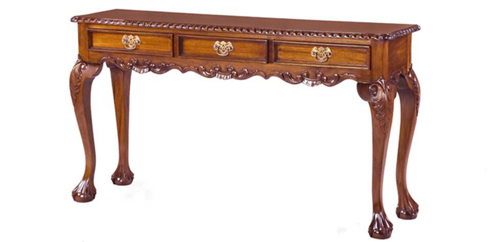 CONSOLE THREE DRAWERS (T410)