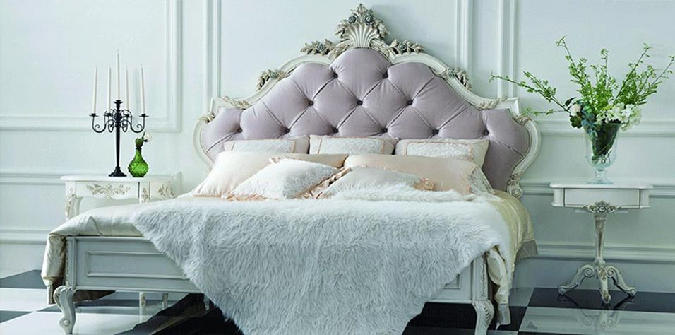 CARVED BED (104L)