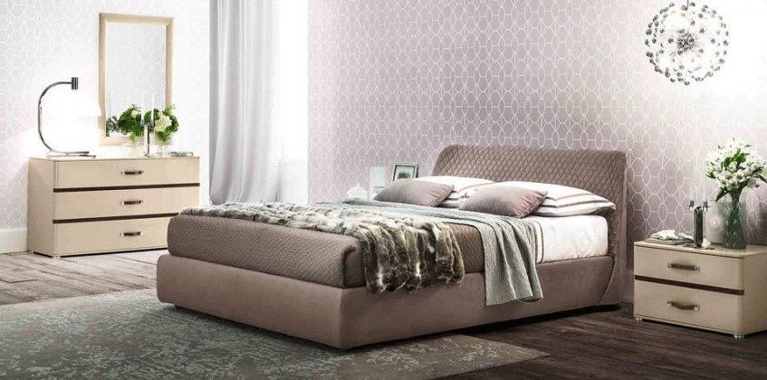 BEDROOM SET (KLEO) MADE IN ITALY BED