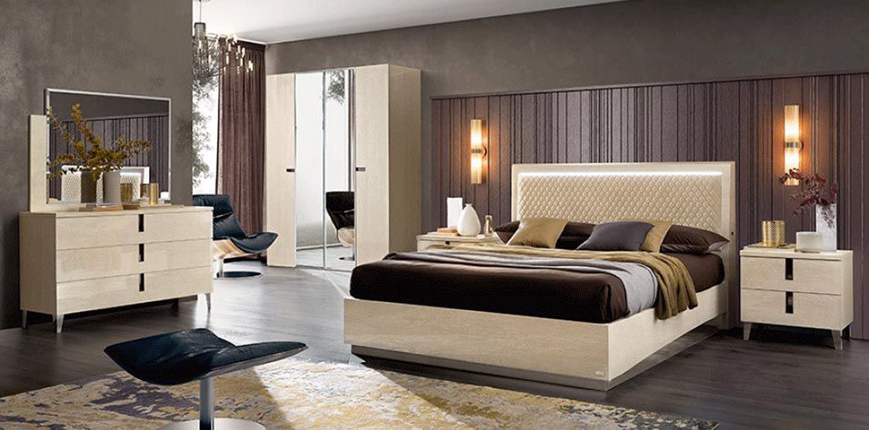 MODERN BEDROOM SET (AMBRA)