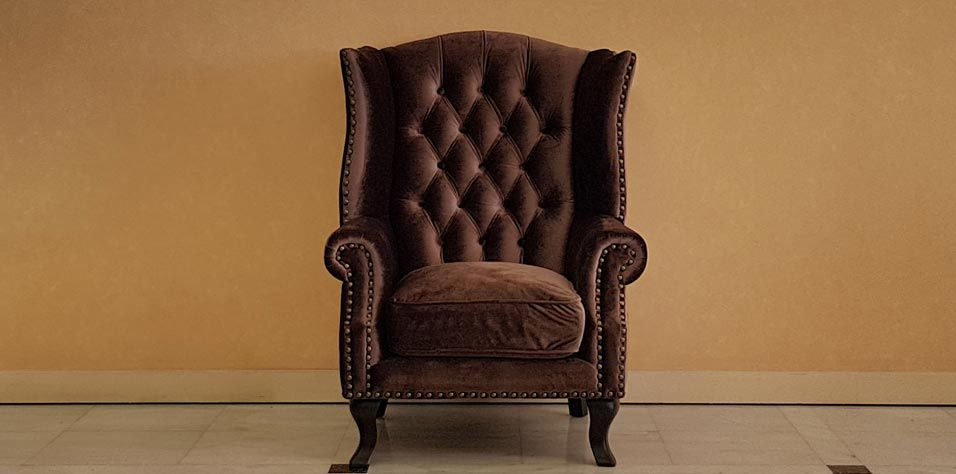 QUILTED BERGERE ARMCHAIR (J712)