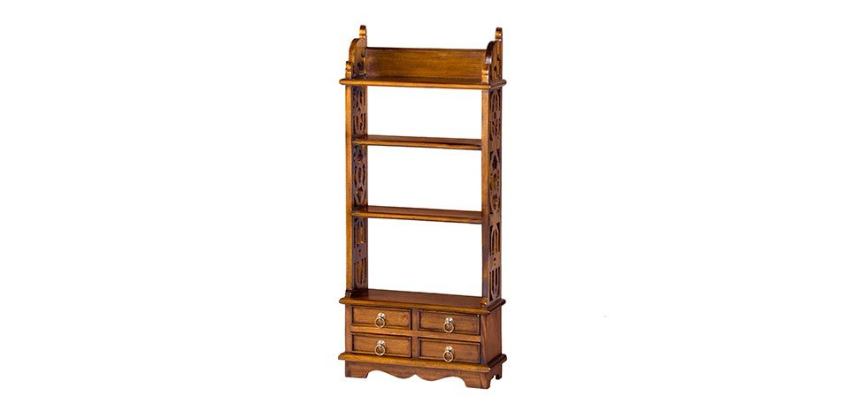 RACK WITH DRAWERS WIDE (S003)
