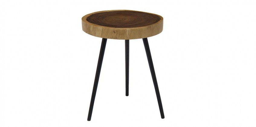 ROUND LAMP TABLE (3046) LIVING ROOM