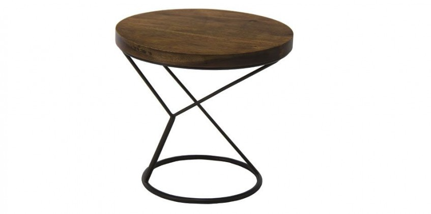 CORR SIDE TABLE (CORR) LIVING ROOM