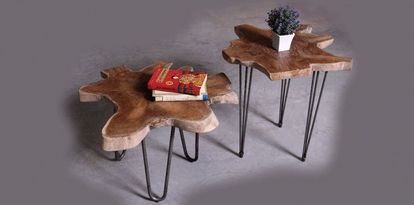 LAMP TABLE (BRIT) COFFEE TABLE