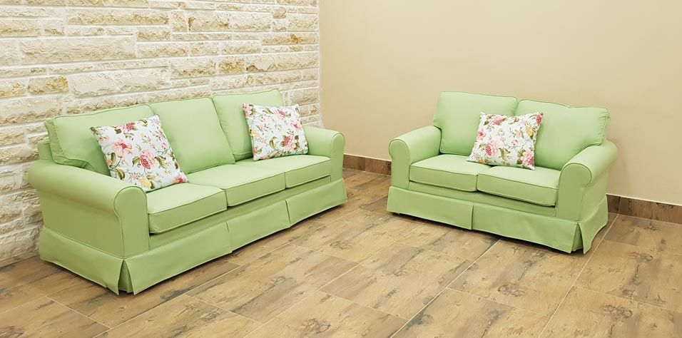 TWO SEATER SOFA (GRE2)***STOCK***