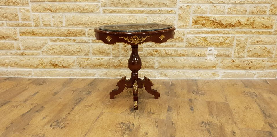 OVAL SIDE TABLE (1058)